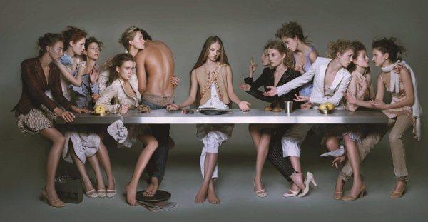 38. brigitte niedermair, the last supper 2005 copia